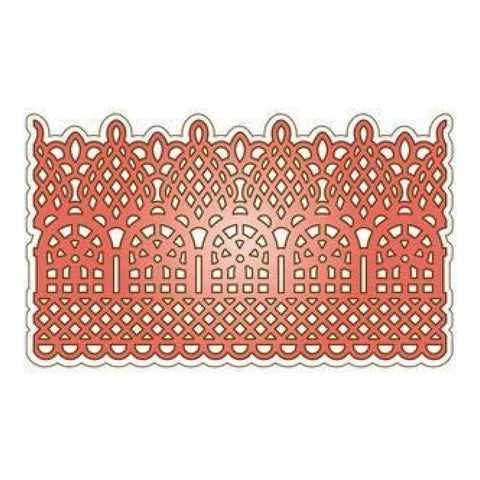 Decorative Lace Border Heartfelt Creations Dies by Spellbinders HCD173