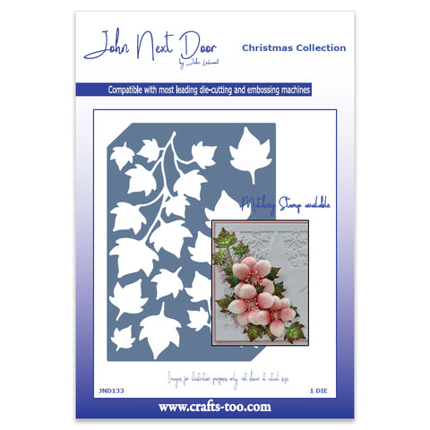 Ivy Die Plate John Next Door Christmas Collection Dies JND133