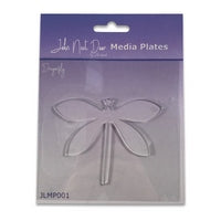 John Next Door Media Plate - Dragonfly JLMP001