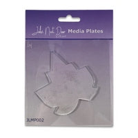 John Next Door Media Plate - Leaf JLMP002