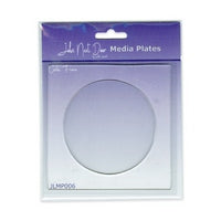 John Next Door Media Plate - Circle Frame JLMP006