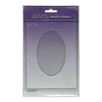John Next Door Media Plate - Oval Frame JLMP007