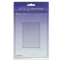 John Next Door Media Plate - Rectangle Frame JLMP008