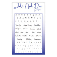 John Next Door Clear Stamp - Everyday Alphabet JND0014