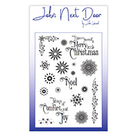 John Next Door Clear Stamp - Snowflakes JND0023