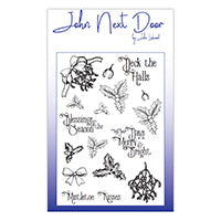 John Next Door Clear Stamp - Deck the Halls JND0024