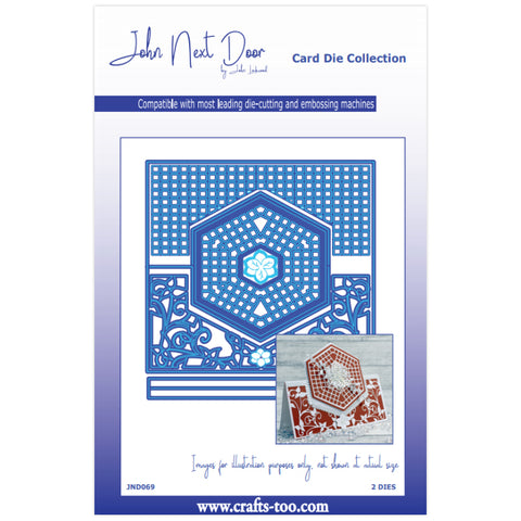 John Next Door Card Die Collection Foston Fold (7pcs) JND069