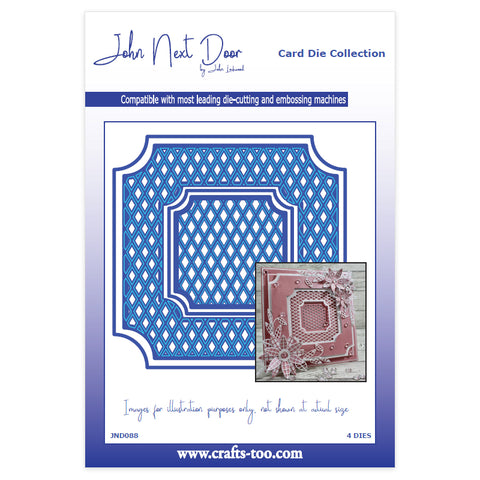 John Next Door Card Die Collection - Anstey (4pcs) JND088