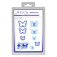 John Next Door Additions Dies - Small Butterflies 9pcs JNDAD008