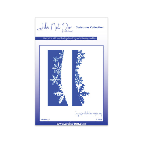John Next Door Christmas Dies - Snowflake Edge (2pcs) JNDCC015
