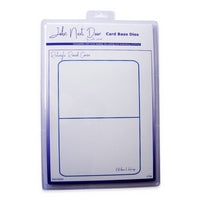 John Next Door Card Base Dies - Rectangle Round Corner JNDCD002