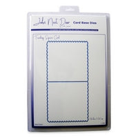 Teardrop Square Card Card Base Die John Next Door JNDCD003