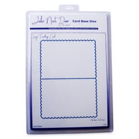 Large Teardrop Card Card Base Dies John Next Door JNDCD006