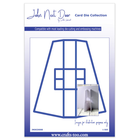 Card Stand Card Die John Next Door Christmas Collection JNDCD008