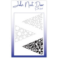John Next Door Mask Stencil - Triangle Tree