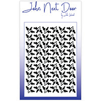 John Next Door Mask Stencil - Holly Quilt JNDM0027