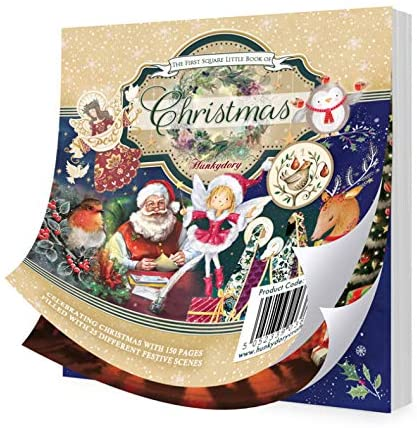 The Little Square Book Of Christmas Christmas By Hunkydory