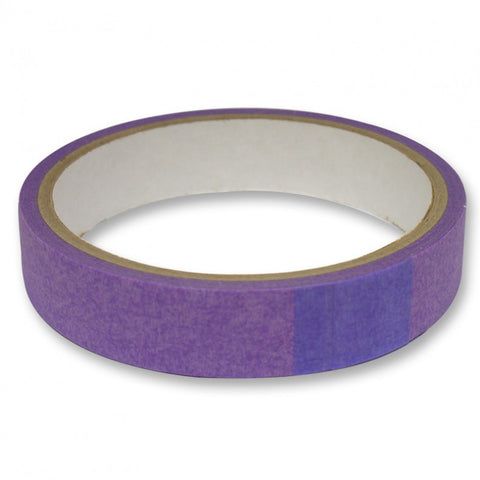 Purple Low-Tack Tape - 19mm Width - 10 Metre Roll