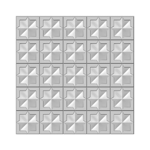Quilted Blocks 3D Embossing Folder 6x6 By Presscut Creative Expressions PCD304