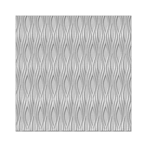 Braided Lines 3D Embossing Folder 6x6 By Presscut Creative Expressions PCD305