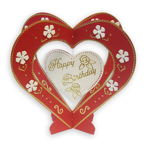Presscut Swing Card Dies - Heart PCD92