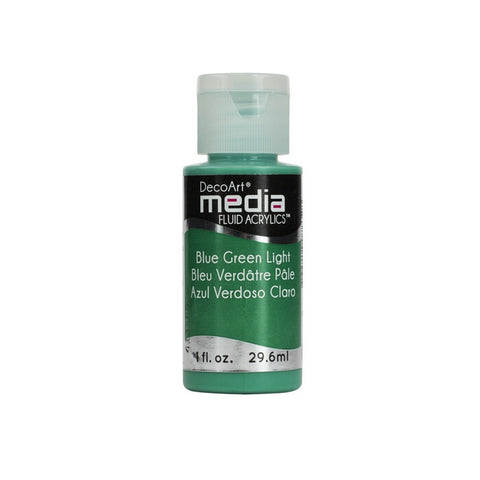 DecoArt Media Fluid Acrylics 1fl. oz (Verious Colours)