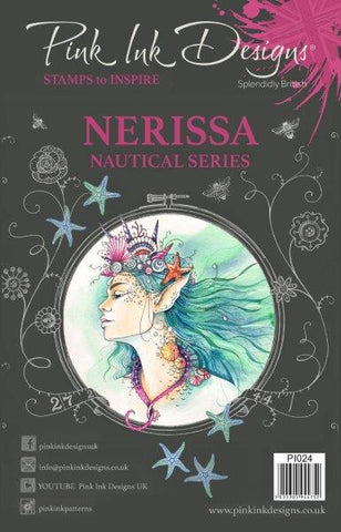 Nerissa Neautical Series 12 Stamps Set By Pink Ink Designs PI024