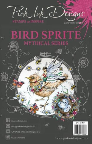 Bird Sprite Mythical Series 10 Stamps Set By Pink Ink Designs PI029