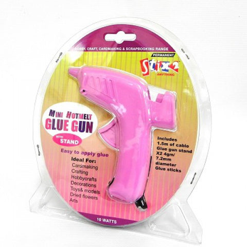 Hot Melt Glue Gun Includes - 2 x 7.2mm Glue Sticks