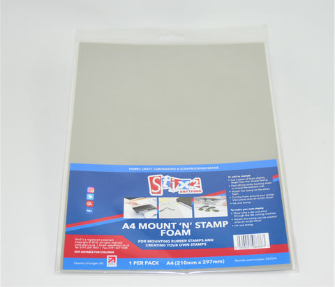 Mount 'n' Stamp Foam Sheet Singles A4 Stix2 S57244