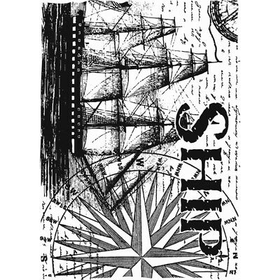 Ship Background Clear Stamp By Sharon Callis SCCSA6017