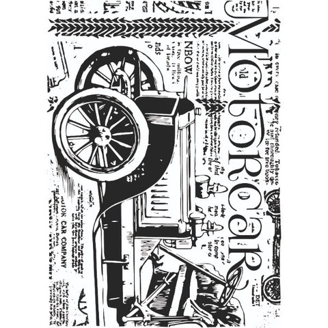 Motorcar Background Clear Stamp By Sharon Callis SCCSA6016