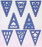 Bunting Selection Dies Sweet Dixie By Sue Dix SDD101