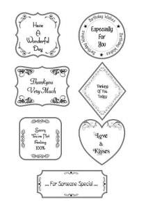 Everyday Flourish Collection Clear Stamp Set By Phill Martin