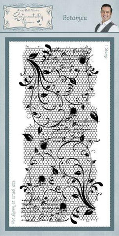 Botanica Rubber Stamp From Phill Martin Sentimentally Yours SYR010