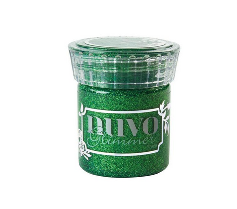 Nuvo - Glimmer Paste - Emerald Green - 955n