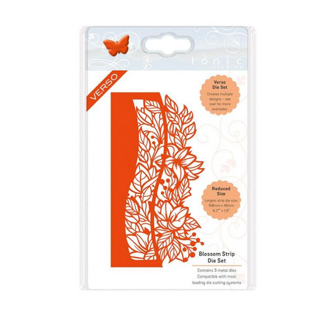 Tonic Studios - Essentials - Blossom Strip Die Set - 2383E