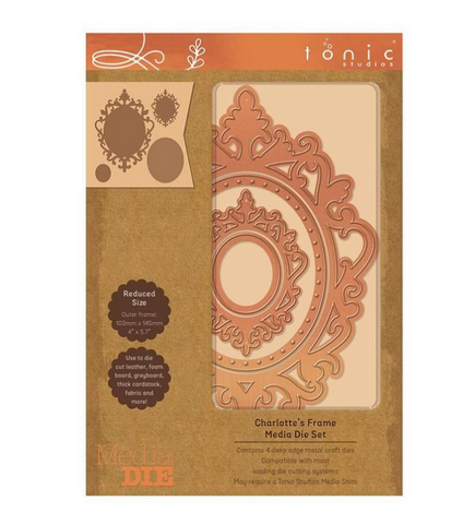 Tonic Studios - Media Die - Charlotte's Frame Media Die Sets - 2368E