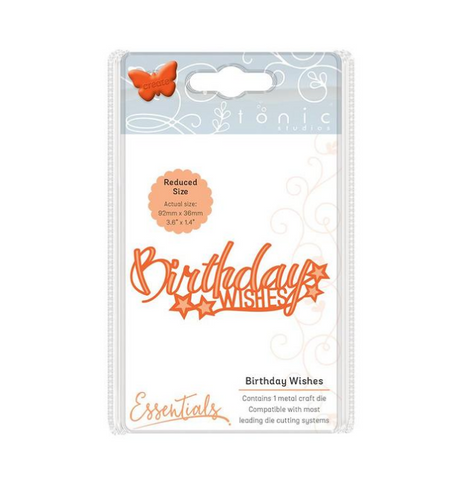 Birthday Wishes Miniature Moments By Tonic Studios 1243e