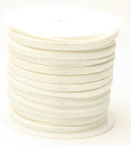Faux Suede Cord 3x1.5mm approx 5m per roll TRC108