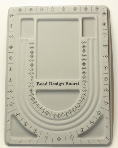 Beading Board Beader Design Board Flocked in Gray 1pcs. TRC141