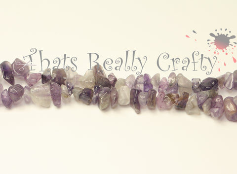 Natural Amethyst Stone Bead Chips Approx 320 pcs TRC154