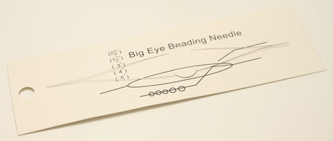 Big Eye Beading Needle 15.5cm TRC288