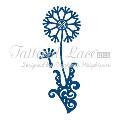 Tattered Lace Dies - Dandelion D134