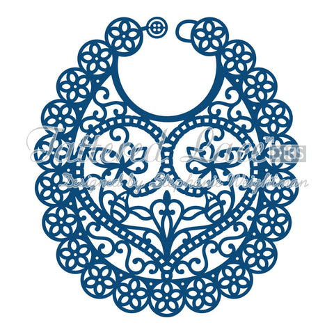 Baby Bib Die Tattered Lace D562