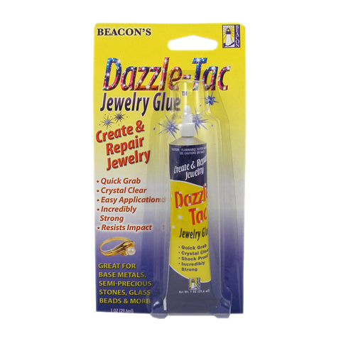 Beacon Dazzle Tac Jewellery Glue 1oz tube TRC409