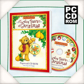 Twelve Bears of Christmas CD ROM by Katy Sue Designs