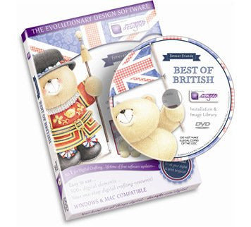 Best Of British Forever Friends CD ROM by Docraft