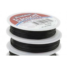 Beadalon Elasticity 0.8mm Black Round 5m Reel TRC372