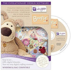 Digital Designer Boofle Knitted Dog 'Premier Collection' Disc -Template Craft Image Design Software Computer DVD CD-ROM by Docraft